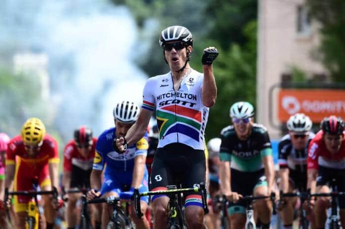Critérium du Dauphiné victoire Impey