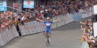 Yves Lampaert remporte le championnat de Belgique
