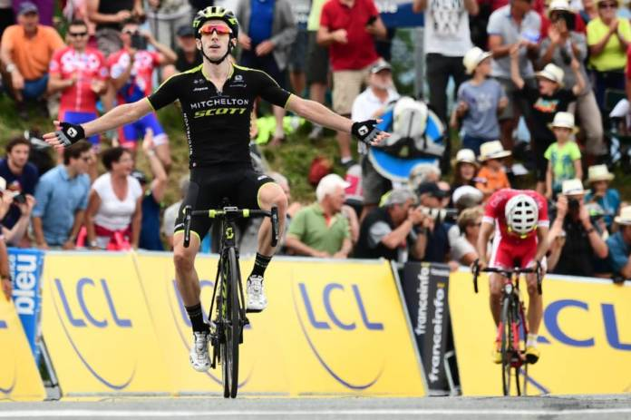 mitchelton-scott composition tour de france 2018
