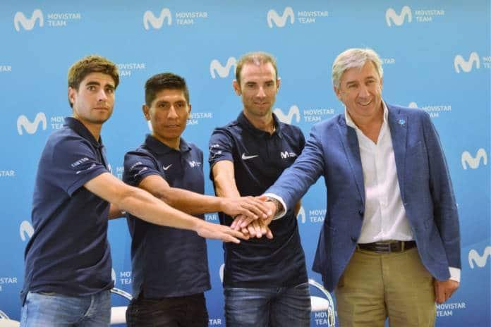 Tour de France 2018 objectif majeur de Movistar Team