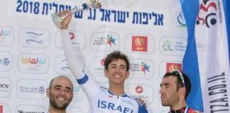 Omer Goldstein champion d'Israel du contre-la-montre 2018