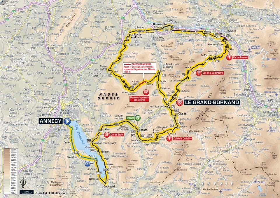 Bonneville And Son >> Présentation étape 10 Tour de France mardi 17 juillet 2018