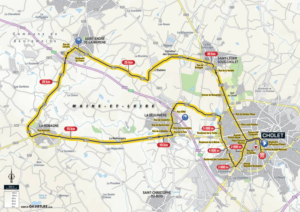 parcours etape 3 tour de france 2018