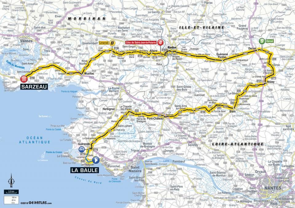 parcours etape 4 tour de france 2018