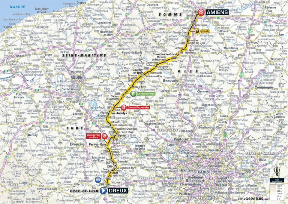 parcours etape 8 tour de france 2018