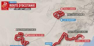 Route d'Occitanie 2018 parcours