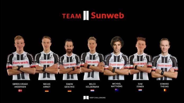 Tour de Suisse compo Sunweb