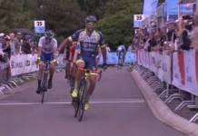 Tour de Luxembourg étape 2 remportée par Andrea Pasqualon
