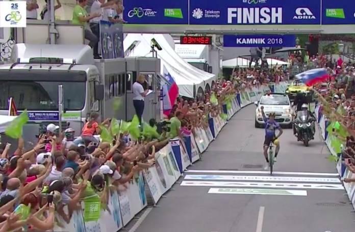 Tour de Slovénie étape 4 Primoz Roglic