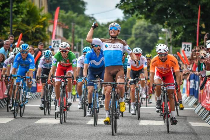 Route d'Occitanie victoire étape Venturini