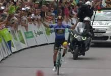 Vidéos Tour de Slovénie 2018 étape 4 Primoz Roglic