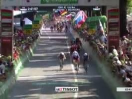 Vidéos Tour de Suisse 2018 étape 8 Arnaud Démare