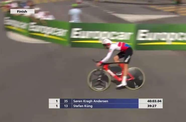 Vidéos Tour de Suisse 2018 étape 9 Stefan Kung