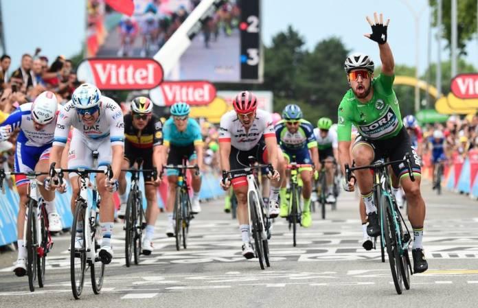 Peter Sagan vainqueur une 3e fois sur le Tour 2018
