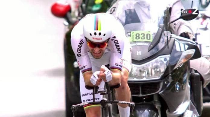Tom Dumoulin finit le Tour par une victoire