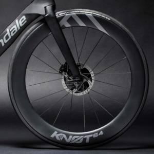 Les roues KNOT64 du Cannondale SystemSix
