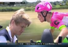 Tour de France 2018 commence mal pour Craddock
