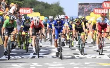 Fernando Gaviria remporte l'étape 3 du Sarzeau du Tour de France