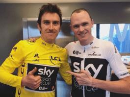 Tour de France avec Froome et Thomas