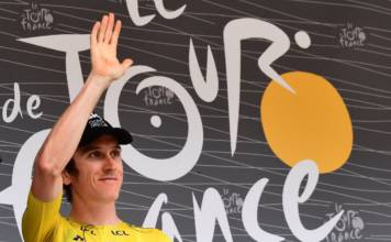 Geraint Thomas remporte son premier Tour de France
