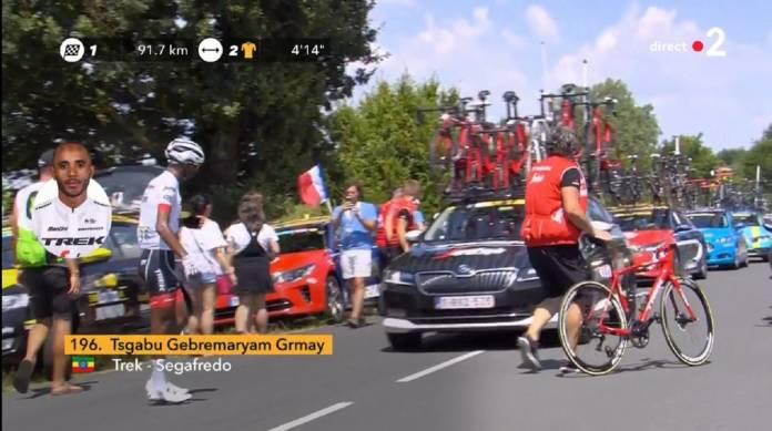 Tour de France 2018 fini pour Grmay