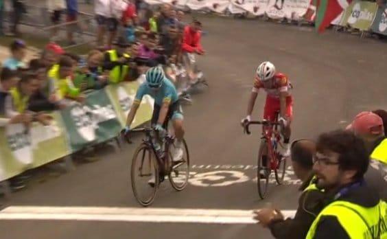 Miguel Angel Lopez en tête du Tour de Burgos
