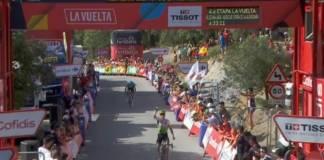 Ben King remporte la 4e étape de la Vuelta 2018