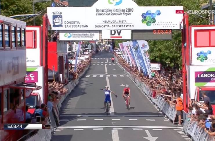 Julian Alaphilippe remporte une nouvelle classique World Tour