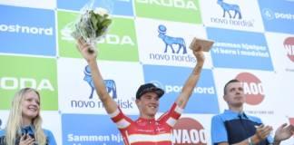 Mads Pedersen vainqueur d'étape sur ses terres