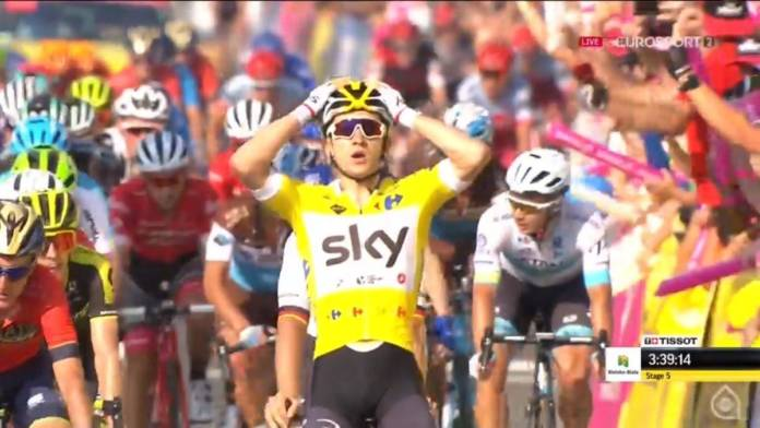 Michal Kwiatkowski domine le Tour de Pologne