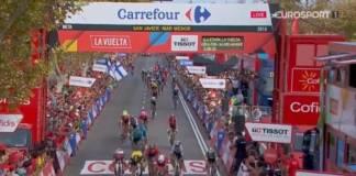 Nacer Bouhanni remporte au sprint la 6e étape du Tour d'Espagne
