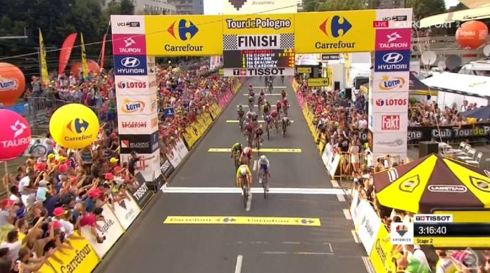 Pascal Ackermann dominateur sur el Tour de Pologne