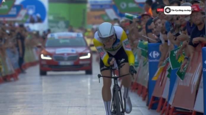 Rohan Dennis leader de la Vuelta
