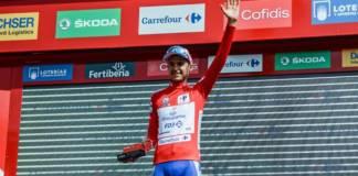 Rudy Molard leader du Tour d'Espagne 2018