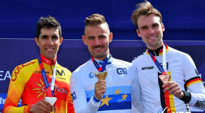 Victor Campenaerts champion d'Europe du contre-la-montre