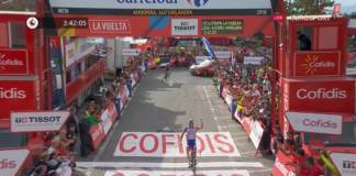 Thibaut Pinot réussit sa Vuelta