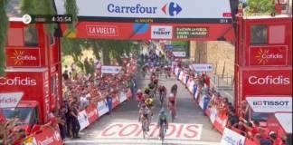 Alejandro Valverde obtient une 2e victoire d'étape