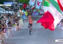 Anna van der Breggen championne du monde sur route 2018 à Innsbruck