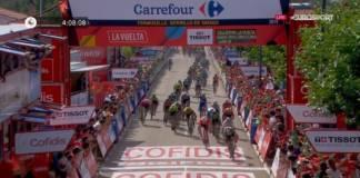 Elia Viviani remporte une 2e étape dans cette édition