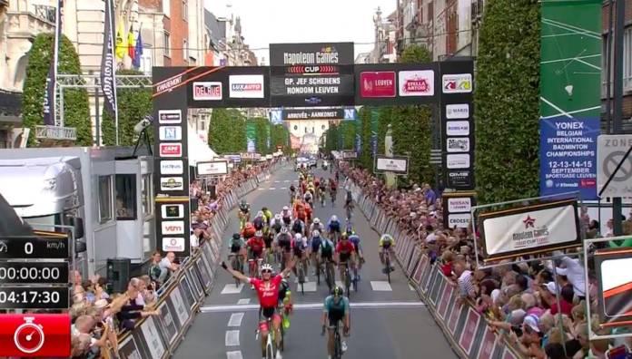 Jasper Stuyven le plus véloce au sprint