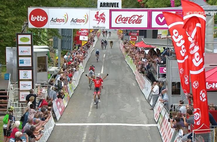 Jasper Stuyven victorieux