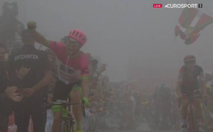 Michael Woods sauve sa Vuelta