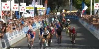 Pascal Ackermann impressionnant au sprint