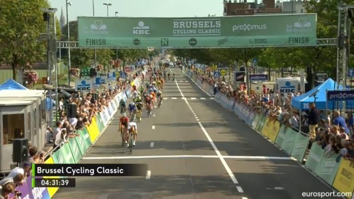 Pascal Ackermann lauréat de la Brussels Cycling Classic
