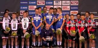 QuickStep-Floors remporte le championnat du monde TTT 2018
