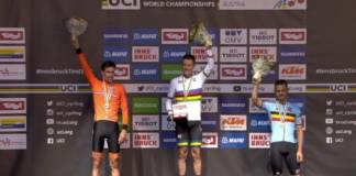 Rohan Dennis nouveau porteur du maillot arc en ciel pour les chronos