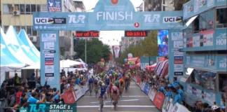 Alvaro Hodeg le plus fort sur la 5e étape