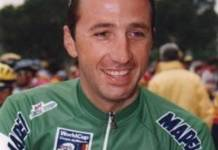 Andrea Tafi postule pour Paris-Roubaix