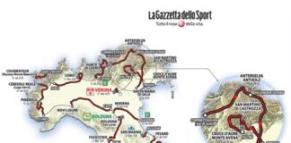 Giro 2019 parcours dévoilé