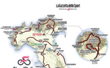 Tour d'Italie 2019 parcours et favoris